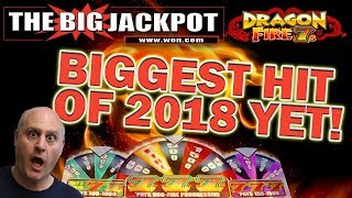 🔥THE BIGGEST JACKPOT HIT OF 2018 SO FAR!! DRAGON FIRE 7'S 🔥