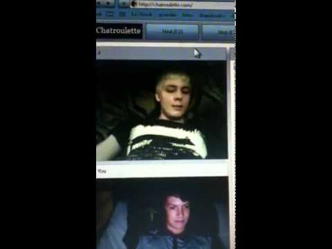 Gay Acting Crazy On Chatroulette! Original Version - OneChannelTwopeople