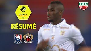SM Caen - OGC Nice ( 1-1 ) - Résumé - (SMC - OGCN) / 2018-19