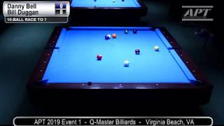 2019 Event 1: Danny Bell vs Bill Duggan (no audio)