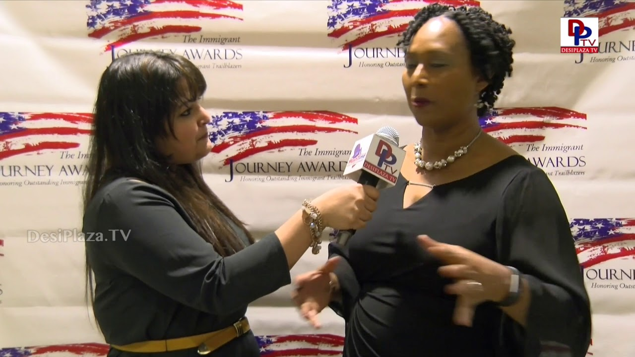 Ann Badmus, Immigration Attorney speaks to DesiplazaTV at Immigration Awards Gala | #IJAwards2018