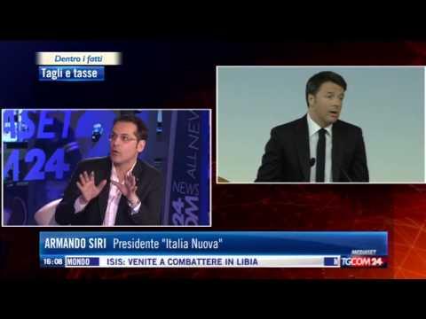 Armando Siri - Renzi affossa la piccola e media impresa italiana