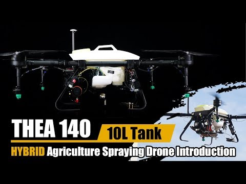 THEA 140 HYBRID Agriculture Spraying Drone Introduction