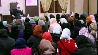 Gulshan-e-Waqfe Nau Nasirat, 22 Jan 2011, Educational class with Hadhrat Mirza Masroor Ahmad(aba)