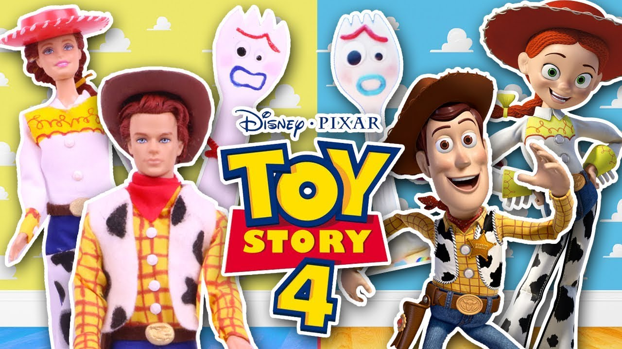 Toy Story 4 Jessie And Woody
