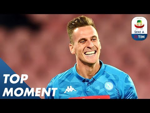 Superb Strike by Milik! | Napoli 3-0 Parma | Top Moment | Serie A