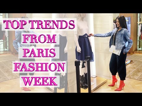 Top 12 Trends I Saw During Paris Fashion Week
