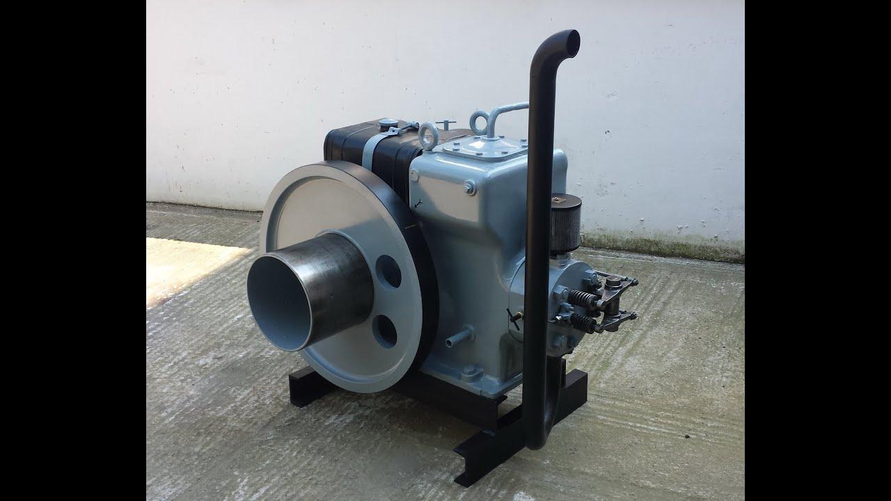 Αποτέλεσμα εικόνας για Ελληνική Μηχανή Πετρελαίου Μαλκότση ΑΗ 125/160 2o Μέρος