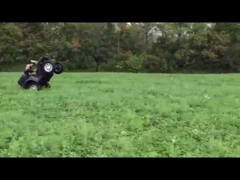 Polaris Sportsman XP 850 Loooong Wheelie Raw Fuel TV