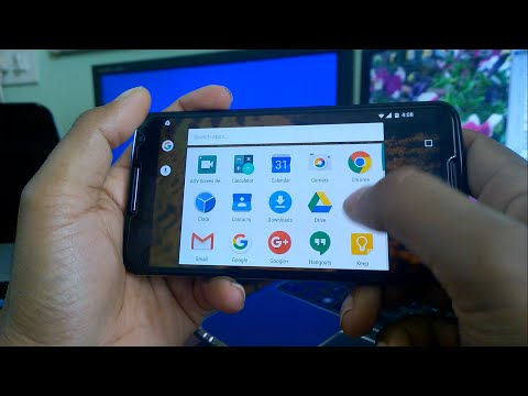 how to  turn or rotate screen to landscape mode in android lollipop and marshmallow