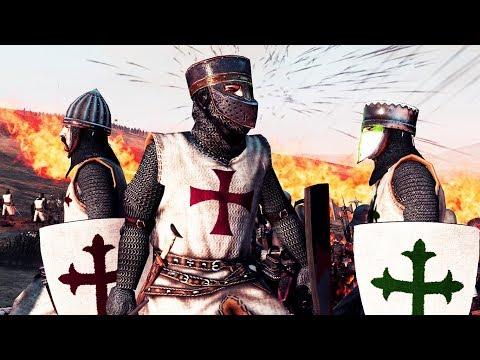 The Last Stand of the Knights (Seljuk Turks vs Templar Army) MK 1212 AD