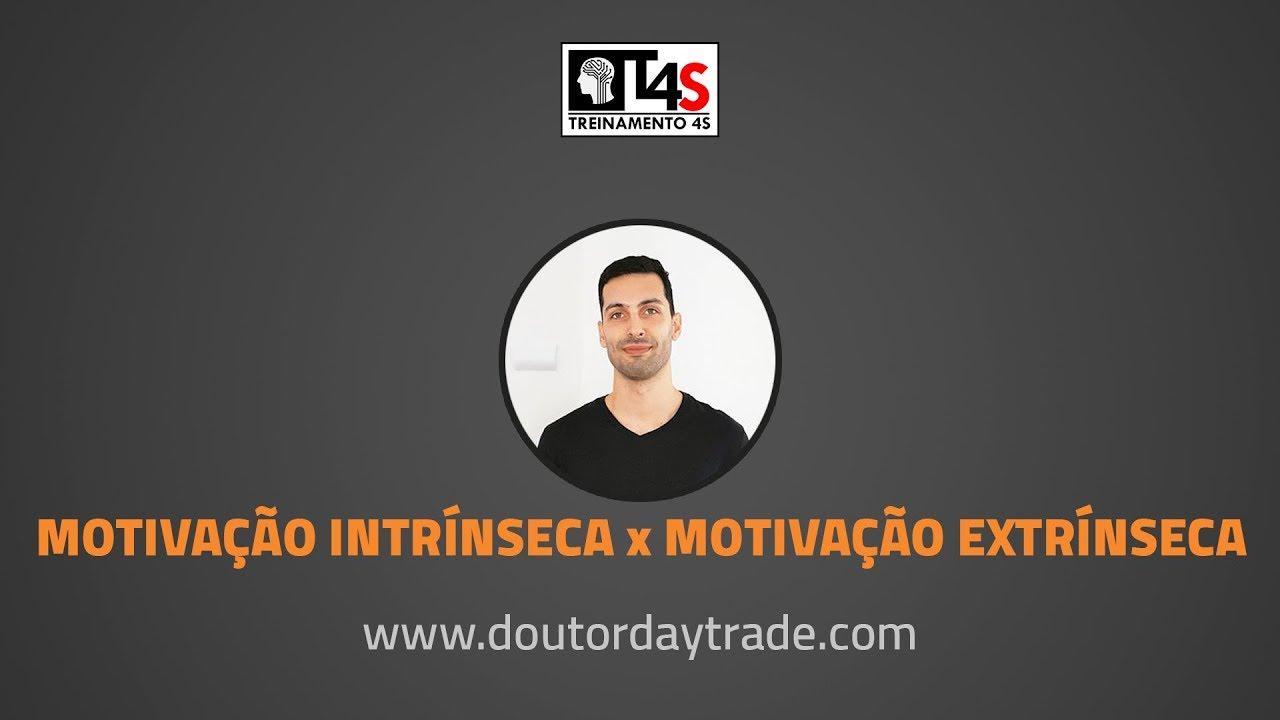 Motivação Intrínseca X Motivação Extrínseca