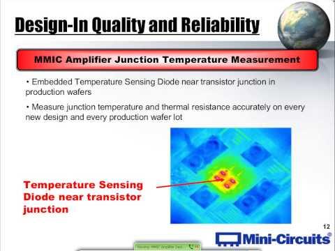 MMIC Amplifier Design Approaches