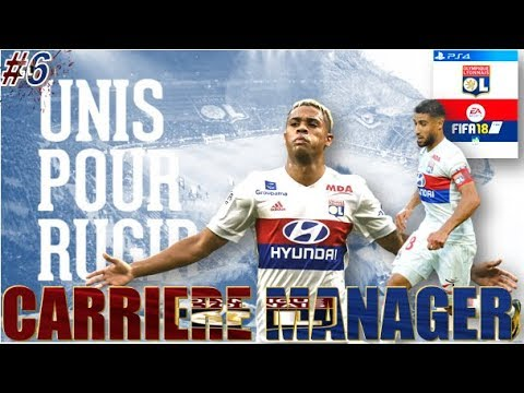 FIFA 18  CARRIÈRE MANAGER OL | EP 6 | CHOC FACE A MONACO + DERBY [LIVE]