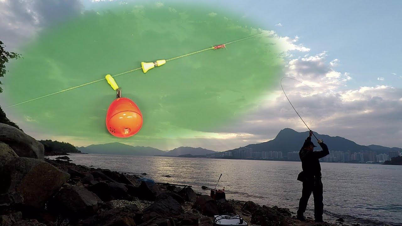 磯釣 | 全游動小總結(3) :適合新手,最簡單的全游動釣組