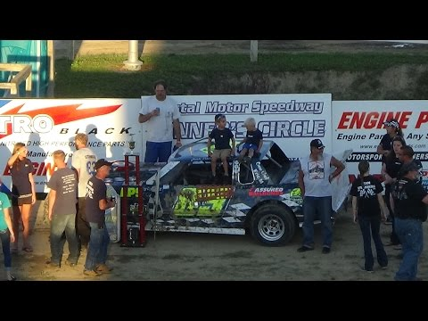 Street Stock Feature Race at Great Lakes Nationals, Crystal Motor Speedway on 09-18-16