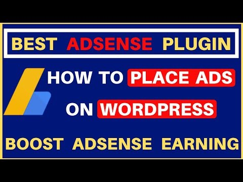Best adsense plugin for wordpress | How To Place Adsense Ads On Website | Boost Adsense Earnings thumbnail