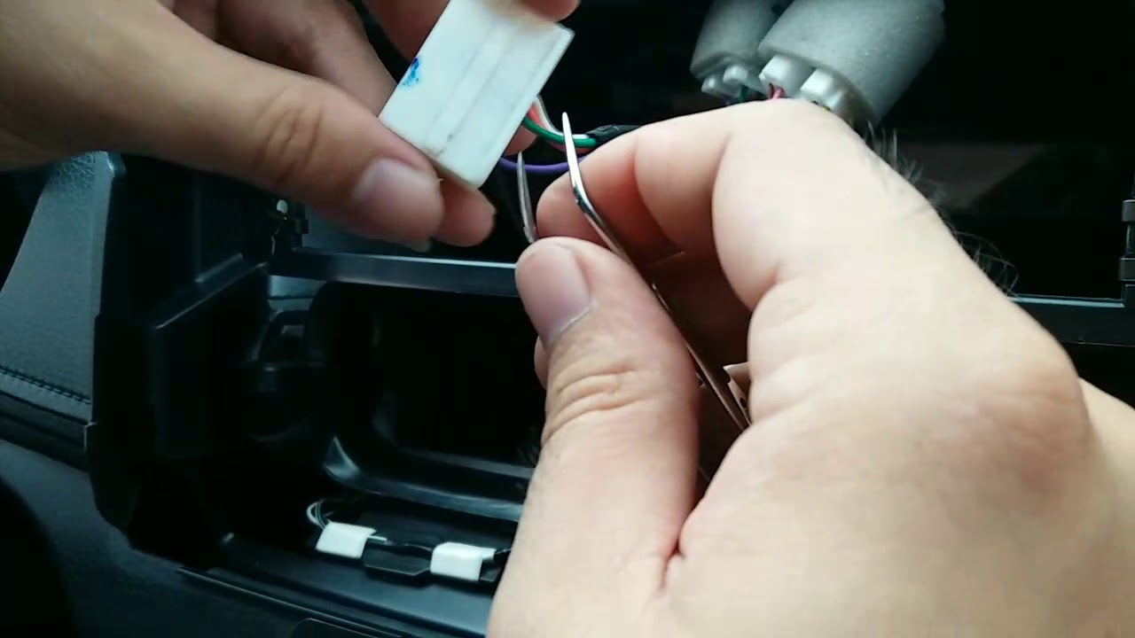 hight resolution of toyota vios bypass video in moton no cutting