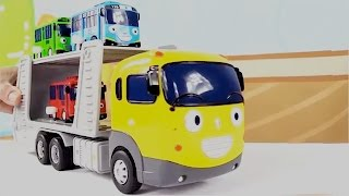 Carros - Carritos para niños - Tayo the Little Bus Toys - 타요 꼬마버스 장난감