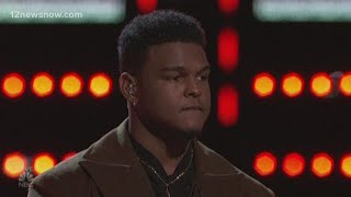 "De'Andre Nico talks about his elimination from ""The Voice,"" says Adam Levine sold him out"