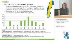 Tietoisku Euroopan tuhkarokkotilanteesta – entä Suomi?/Mari Kinnunen