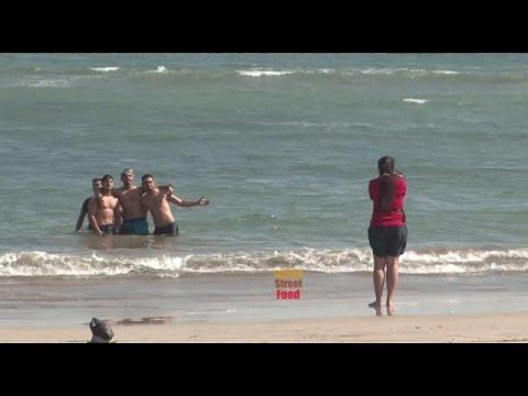 The Beaches In India - Nagoa Beach Diu Gujarat - Most Affordable Beach Destination Vacations At Diu