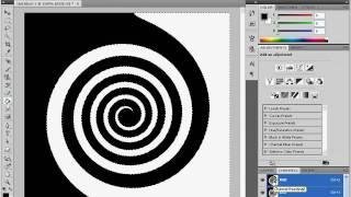 Рисуем текст по спирали в Adobe Photoshop CS4 (18/20)
