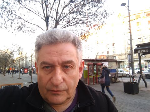 A British expat in Belgrade