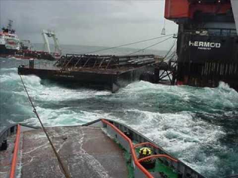 trablhando Offshore