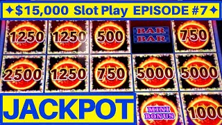 My ⭐️BIGGEST HANDPAY JACKPOT⭐️ On High Limit Liberty Link Slot Machine | EPISODE-7 | Live Slot Play