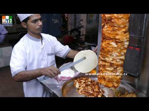 Chicken shawarma roll - photo#33