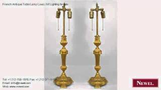 French Antique Table Lamp Louis Xvi Lighting For Sale