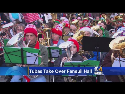 Tubas Take Over Faneuil Hall For Christmas Concert