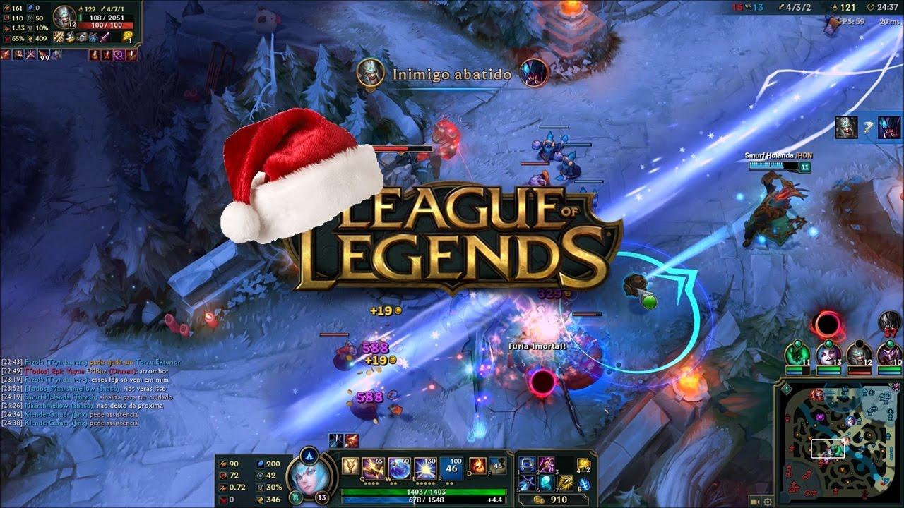 League Of Legends Mapa.Mapa De Natal League Of Legends 2016