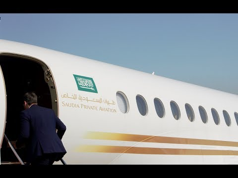 ✈ Saudi Airlines private aviation - flying with style
