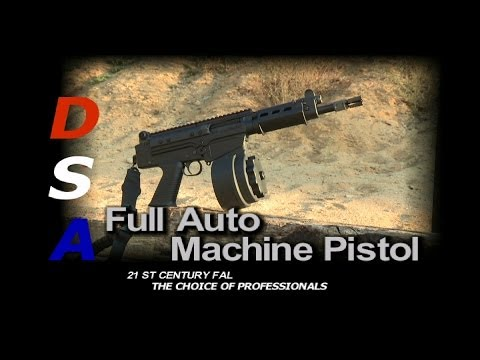 Full auto machine pistol by DSAINC