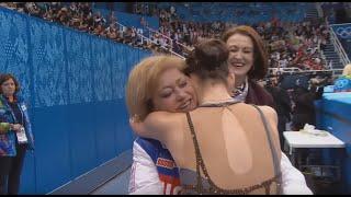 Аделина Сотникова пообещала растить олимпийскую чемпионку