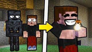 WSADZIŁEM SZKIELETA DO BUTELKI! - Minecraft Caveblock 2.0