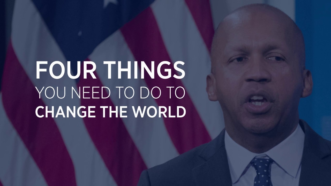 4 Rules For Achieving Peace and Justice | Bryan Stevenson