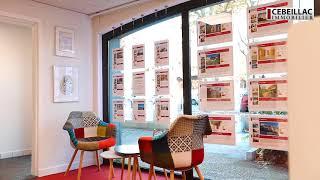 Présentation de l'agence Cebeillac Immobilier 🏡