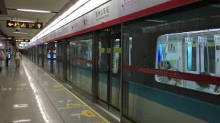 【中国】 蘇州地下鉄2号線 蘇州火車站駅 Line 2, Suzhou Rail Transit Suzhou Railway Station (2016.9)