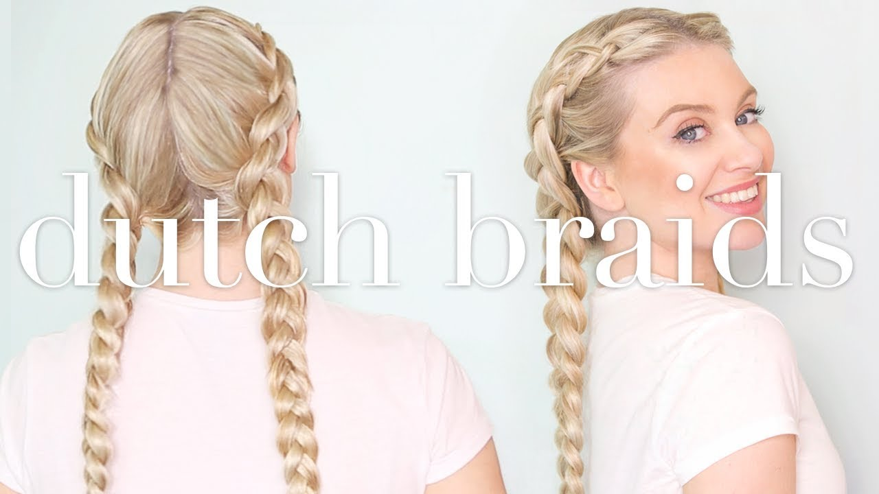 How To: Double Dutch Braids With Clip In Hair Extensions | Milk + ...