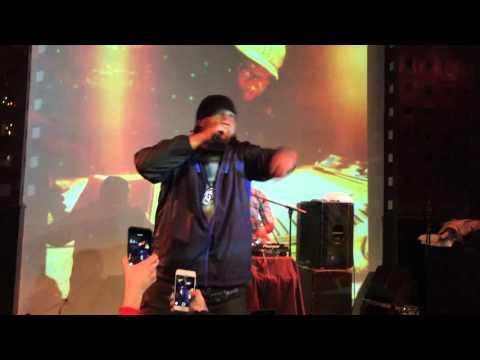 "KRS ONE ""South Bronx"" LIVE AT SOB's"