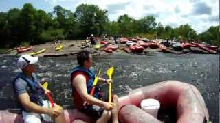 Whitewater Rafting @ Lehigh River 2012-06-24