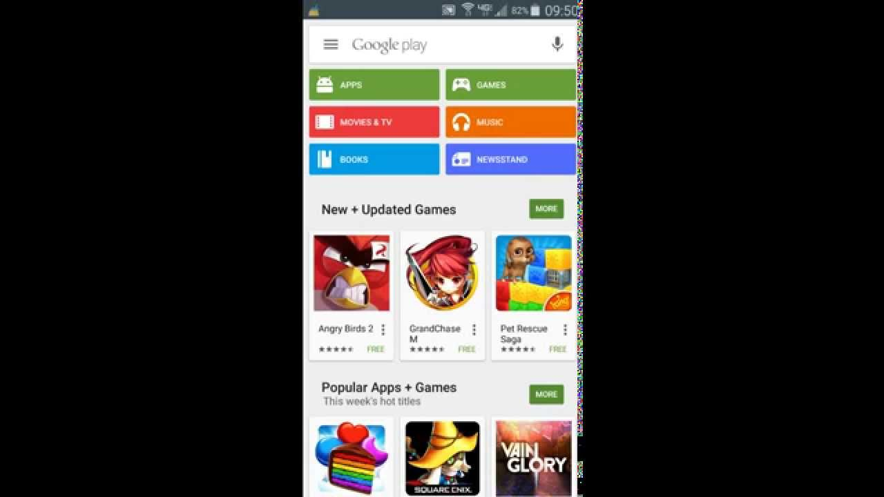 how to install free apps from google play