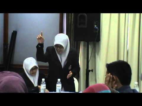 Debate Bahasa Arab MA Ar Risalah vs SMA Majelis Agama Islam Persekutuan Kuala Lumpur Malaysia Part 1