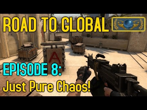 NEGEV CHAOS! - CS:GO Road to Global Episode 8