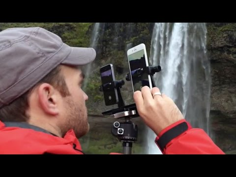 iPhone 6 and 6 Plus photo shoot on location in Iceland