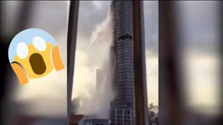 Philippines Earthquake   Viral Footage of 2019 Earthquake Hit Luzon   Swimming Pools   Buildings