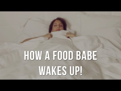 How A Food Babe Wakes Up! Come On Into My Home...